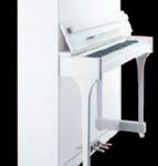 Piano droit 1,20m blanc